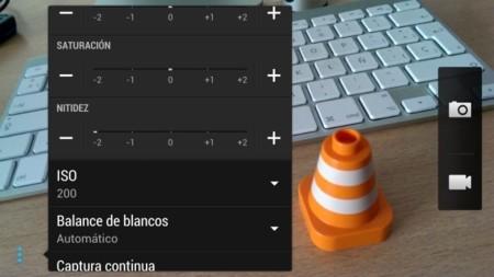 Corrección nitidez HTC One