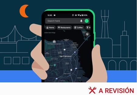 Qué es y cómo activar el tema oscuro en Google Maps