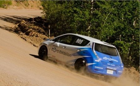 El Leaf debuta con aprobado en la Pikes Peak International Hill Climb 2011