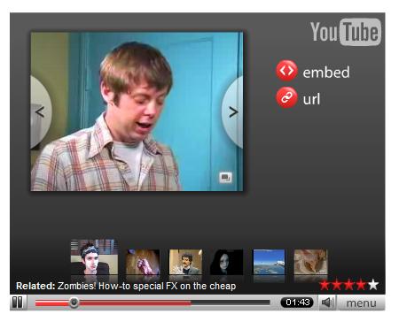 Youtube permitirá personalizar el reproductor