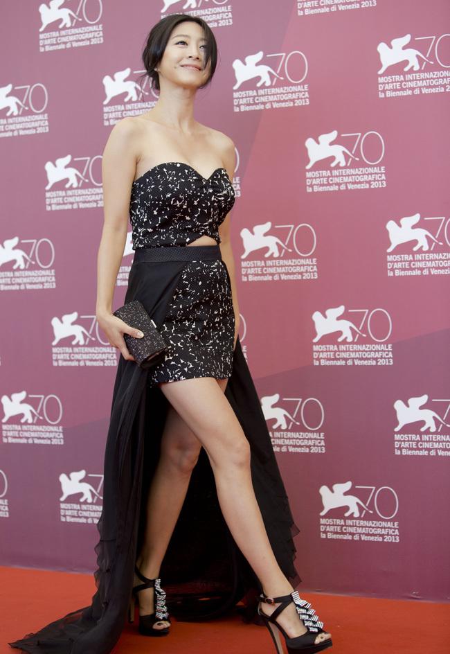Foto de Scarlett Johansson llegó al Festival de Venecia (5/9)