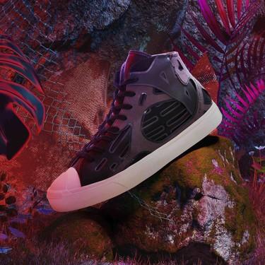 Feng Chen Wang actualiza las Jack Purcell Mid de Converse como el calzado más futurista de la temporada