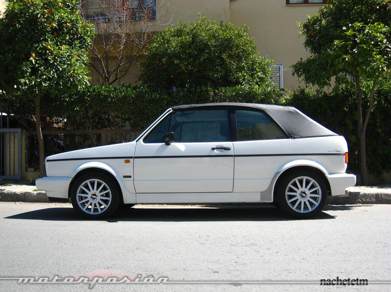 Foto de Volkswagen Golf Cabriolet Clipper (1992) (8/10)