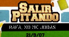 Rafanomejodas.net, la web de la película 'Salir pitando'