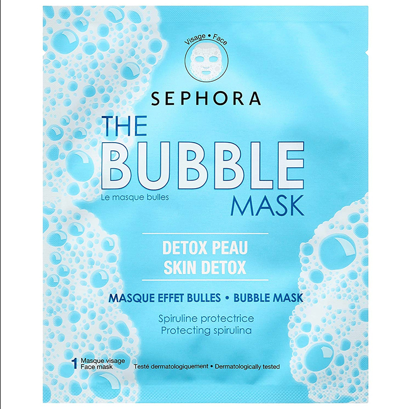 SEPHORA COLLECTION La mascarilla de burbujas Mascarilla de tejido