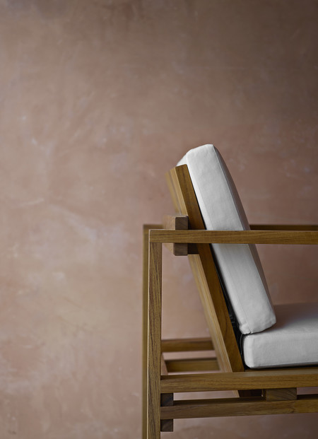 Kjaer Bk10 Dining Chair Teak Detail