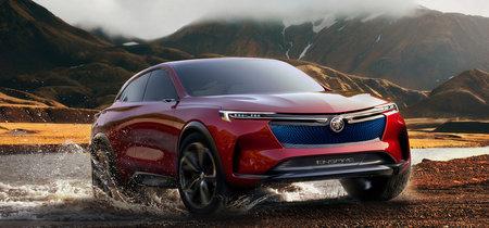 El Buick Enspire concept es un SUV eléctrico de 557 CV atiborrado de tecnología, y debuta en China