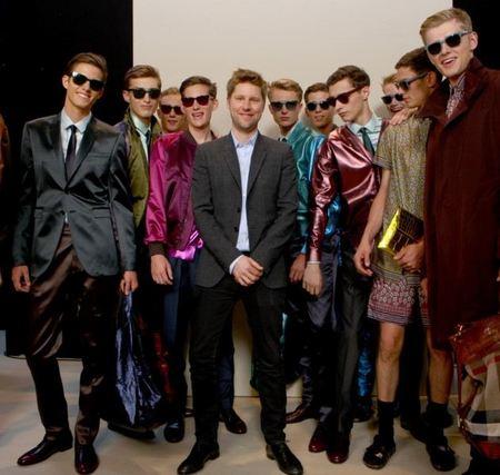 Burberry Prorsum Primavera-Verano 2013, en la Semana de la Moda Masculina de Milán