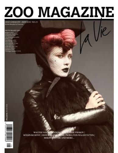 Roisin Murphy en la portada de Zoo Magazine I