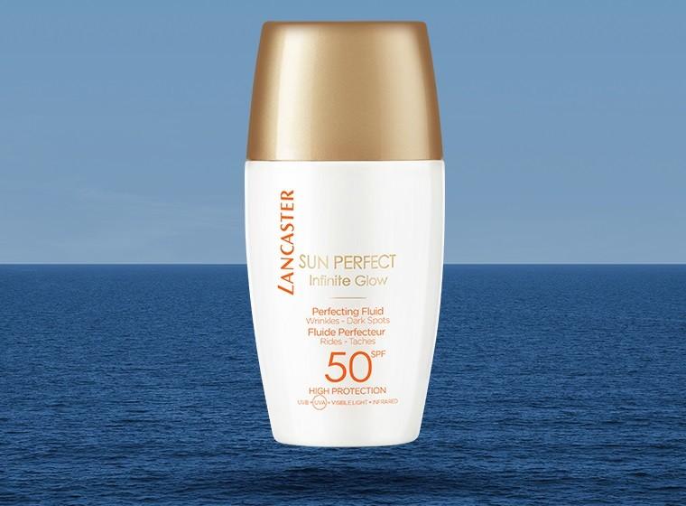 Lancaster lanza Sun Perfect, una variedad de protectores faciales que además son tratamiento antiedad