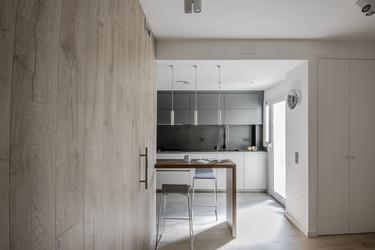 Cómo lograr una transición natural en una cocina conectada, cómoda y acogedora