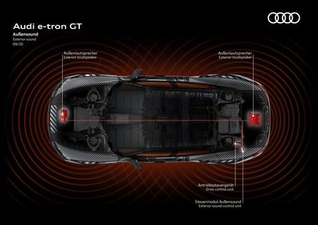 Audi E Tron Gt Altavoces