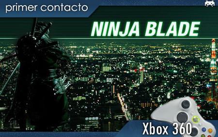 'Ninja Blade'. Primer contacto