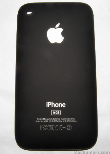 Back new iPhone