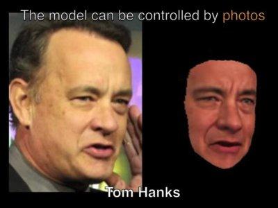 ¿Daniel Craig haciendo de Tom Hanks? Esta técnica recrea modelos 3D animados a partir de fotos y vídeos
