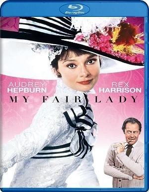 Imagen del bluray español de My fair lady
