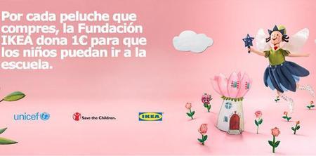 """""""Peluches para la Educación"""": compra un peluche en Ikea y ayuda a los niños desfavorecidos"""