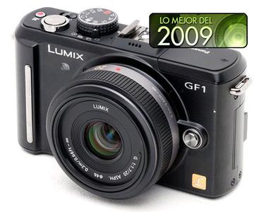 Panasonic GF1, mejor cámara compacta de objetivos intercambiables del 2009