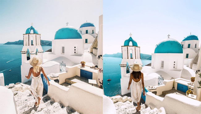 ¿Te imaginas que alguien calcase todas las fotos de tus vacaciones? A esta instagramer le está pasando