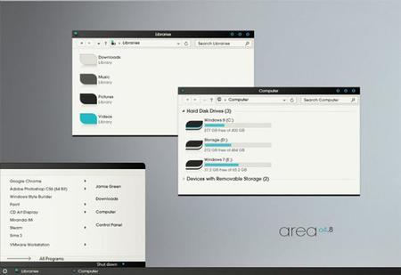 """Cambia la estética de Windows 8 con los """"themes"""" personalizados"""