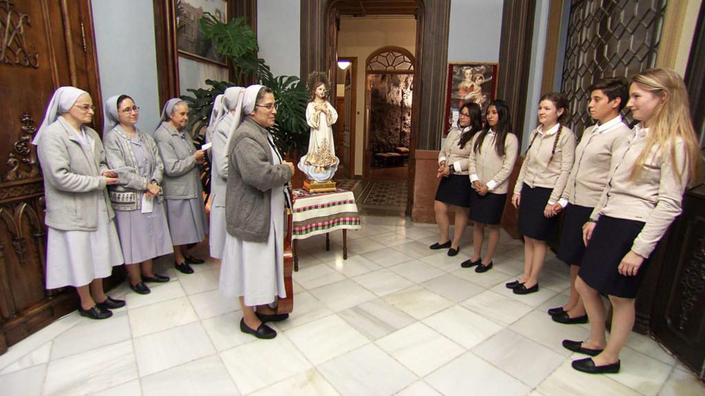 ich möchte eine Nonne Kloster zu sein