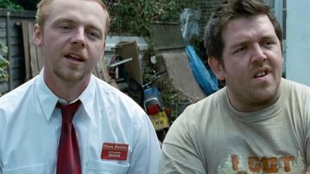 Simon Pegg y Nick Frost recrean una mítica escena de 'Zombies Party' para concienciarnos sobre la amenaza del coronavirus