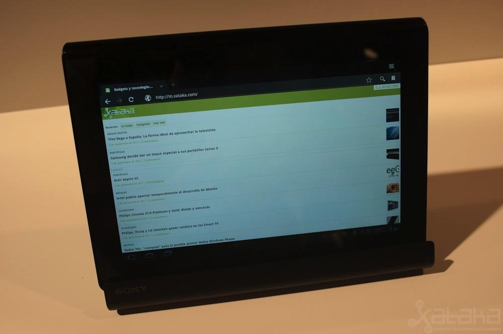 Foto de Sony Tablet S en IFA 2011 (2/12)