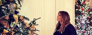 Melania Trump inaugura la (impresionante) Navidad en la Casa Blanca