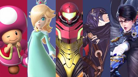 Nintendo se una a la celebración del mes de la mujer mostrándonos siete perfiles de sus heroinas