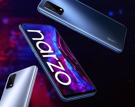 Realme Narzo 30 Pro 5G: un ambicioso gama media con alta tasa de refresco y batería de 5.000mAh