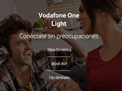 Vodafone One Light: la nueva oferta temporal del operador apuesta por la fibra y móvil low cost