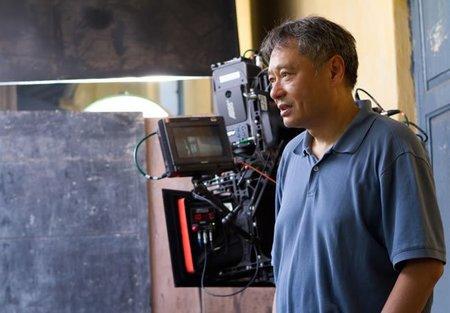 Ang Lee durante el rodaje de Life of Pi