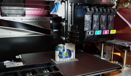 Sta Es La Primera Impresora 3d A Color