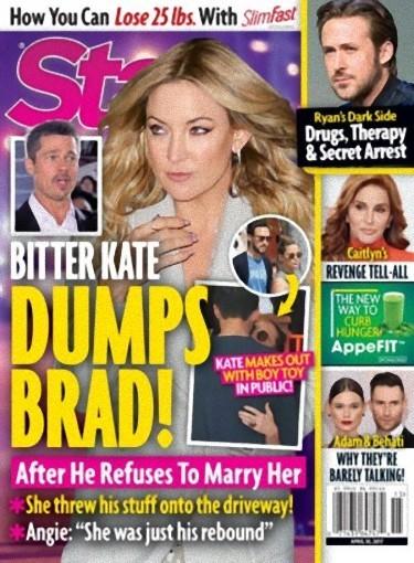 Que dicen que Kate Hudson dejó a Brad Pitt