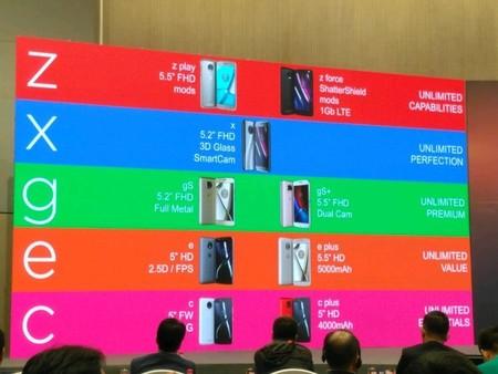 La estrategia de Motorola: de dos a seis gamas de teléfonos para cubrir todas las necesidades