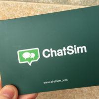 Los límites de uso de ChatSim aclarados: 5 megas al día y solo 50 megas al año