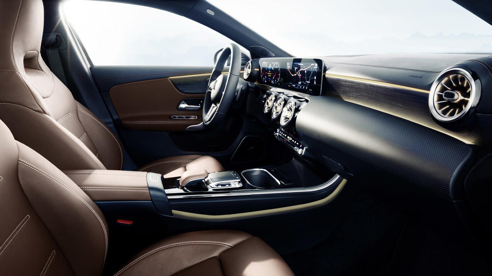 Mercedes-Benz Clase A 2018: impresiones del interior