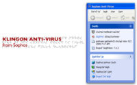 Sophos lanza su antivirus en Klingon