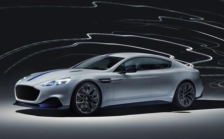 Aston Martin Rapide E: el primer eléctrico de la firma que ofrece hasta ¡610 caballos de fuerza!