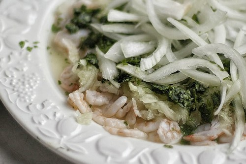 Aguachile de gambas: receta mexicana ideal para disfrutar del verano