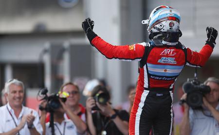Facu Regalia y Melville McKee se estrenan como ganadores de la GP3 en Nürburgring