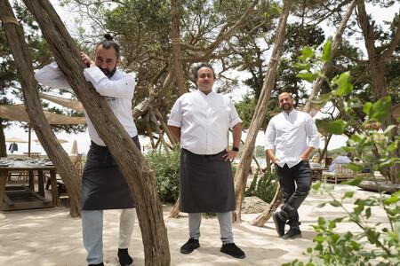 Rafa Zafra Ricardo Acquista Y Alberto Castineias Jefe De Cocina En Casa Jondal