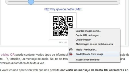 Lee códigos QR en la web desde Chrome con QRreader