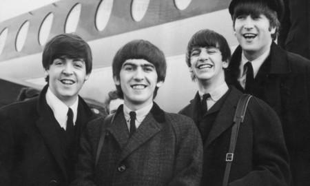 Los Beatles, felices