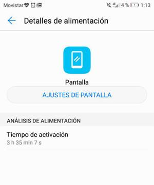 Pantalla Horas Huawei P10 Plus