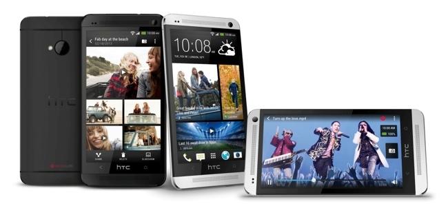HTC One en negro