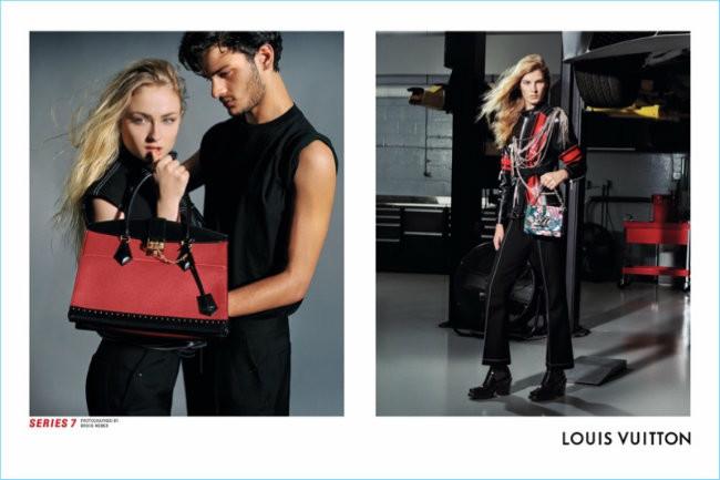 Louis Vuitton Series siete Fall Winter 2017 Campaign 001