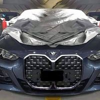El BMW Serie 4 Coupé filtrado presume de riñones falsos (y enormes) en una imagen con el frontal descubierto