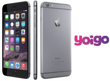 Precios iPhone 6 y iPhone 6 Plus con Yoigo