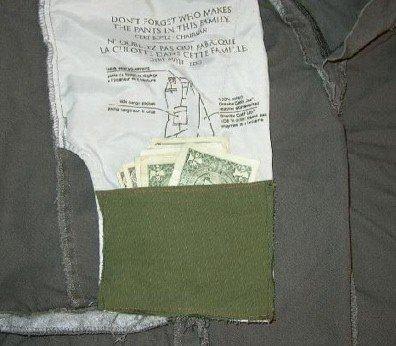 Como hacer fácilmente un bolsillo secreto para tus documentos